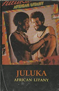 Juluka: African Litany -18409 Cassette Tape