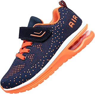 JARLIF Kids Athletic Tennis Running Shoes Breathable Sport Air Gym Jogging Sneakers for Boys & Girls
