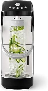 Spärkel Beverage System (Black) - Sparkling Water and Soda Maker - A New Way of Sparkling - Use Fresh & Natural Ingredient...