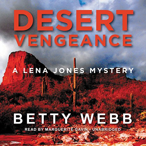 Desert Vengeance audiobook cover art