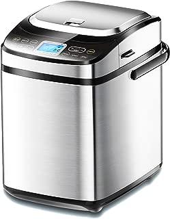 Möbelmaster Bread Maker Machine with Automatic Yeast Dispenser, Fruit Nut Dispenser, Programmable, Gluten Free Setting