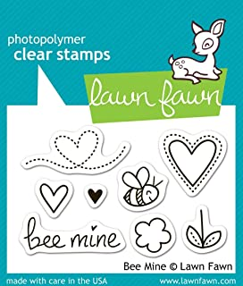 Lawn Fawn Clear Stamps - Bee Mine (LF439)