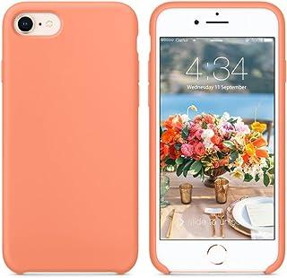 SURPHY Funda para iPhone 8 Plus iPhone 7 Plus Silicona Case, Carcasa iPhone 8 Plus /7 Plus Case, Fundas Silicona Líquida con Forro de Microfibra, Compatible con iPhone 7 Plus/8 Plus 5.5