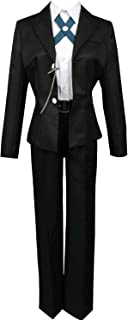 Danganronpa Costume Byakuya Togami Cosplay Black Jacket Top Pants White Shirt Uniform Outfit