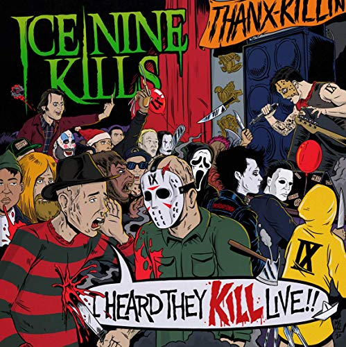Album Art for I Heard They Kill Live [2 LP] by Ice Nine Kills