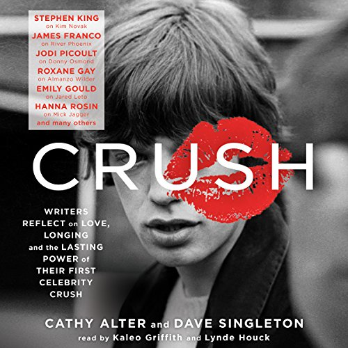 CRUSH audiobook cover art