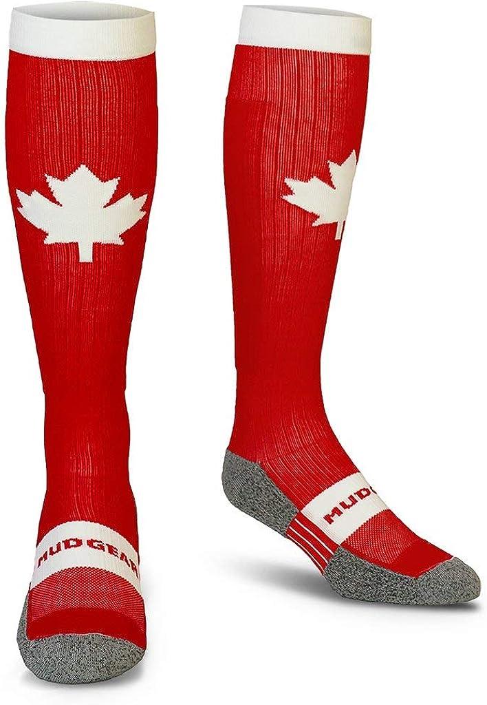 MudGear Premium Compression Socks shipfree - USA Canad Edition Special Bombing free shipping