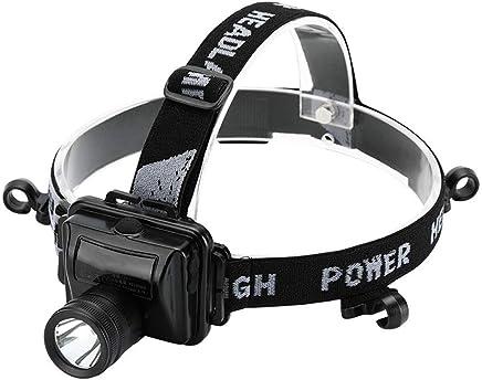 ZAIHW Led-Scheinwerfer super helle Taschenlampe 3 lichtmodi wasserdicht wasserdicht wasserdicht wiederaufladbare Scheinwerfer für Camping lesen regnerisches Wetter Kopf licht (mit Batterie & ladegerät) B07PLCL1JG | Hat einen langen Ruf  59afe5