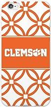 (Clemson University, Elm Band for iPhone 6/6s - White) - OTM Essentials Clemson University, Elm Band Cell Phone Case for iPhone 6/6s - White
