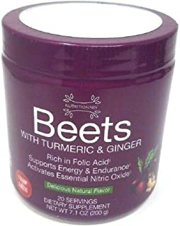 Nutritionary Beets with Turmeric and Ginger Powder Delicious Natural Flavor 200g