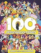 Permalink to 100 Personaggi Disney Libro Da Colorare Volume 1: Fantastico libro da colorare per bambini PDF