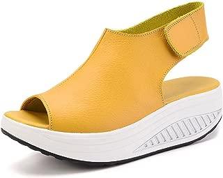Acquista scarpe comode Sandalo Mia Giallo Fluo Sandali