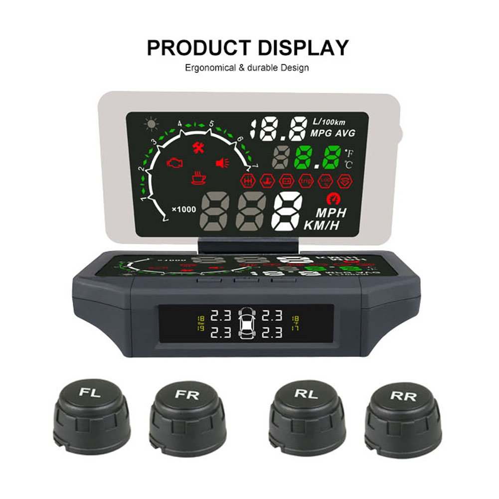 AUTOOL X360 5.8'' Car HUD Head Up Film 3 Our shop most popular Display Financial sales sale IN Reflective 1