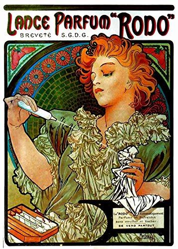 Het Museum Outlet - Lance Parfum door Alphonse Mucha - Canvas Print Online kopen (60 X 80 Inch)