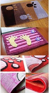 Non-Slip Doormat Kitchen Bathroom Absorbent Door Rug #38