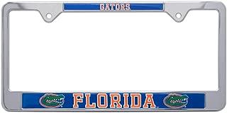 All Metal NCAA Gators Mascot License Plate Frame (Florida)