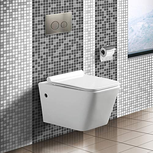 Fine Fixtures Madison Wall hung toilet bowl 22'