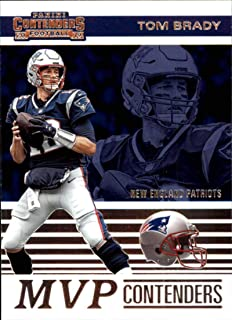2019 NFL Contenders MVP Contenders #2 Tom Brady New England Patriots Official Panini Football Trading Card