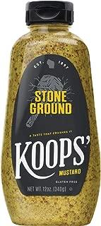 Koops' Stone Ground Mustard, 12 oz. Bottle, 4-Pack