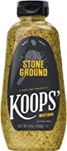 Koops' Stone Ground Mustard, Bottle Unflavored, 12 Oz (Pack of 4)