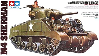 Part & Accessories Tamiya 35190 1/35 US Medium Tank M4 Sherman Early Production Assembly AFV Model Building Kits oh rc toy
