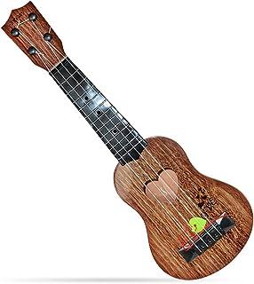 Local Makes A Comeback guitarra de Madera de juguete, para niños, Mini de cuatro