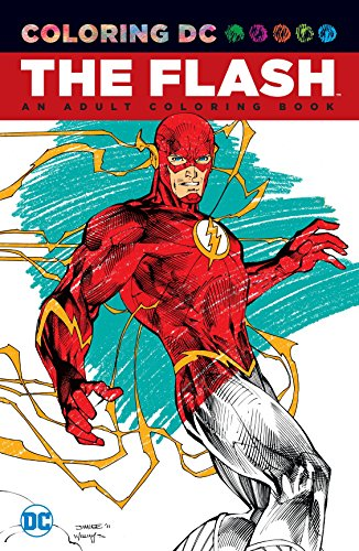 Flash An Adult Coloring Book TP (Coloring DC)