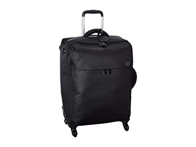 Lipault Paris Original Plume 25 Spinner (Black 1) Luggage