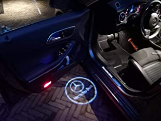 AniFM 2 Piezas de Puerta de Coche Bienvenido LED Proyector L/áser Logo Light//Ghost Shadow Lights para Porsche Cayenne Boxster Cayman Macan 911 S3 S4 Carrera4 Accesorios