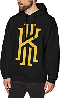 Men's Creative 2# Basketball Player Graphics Long Sleeve Hooded Sweatshirt