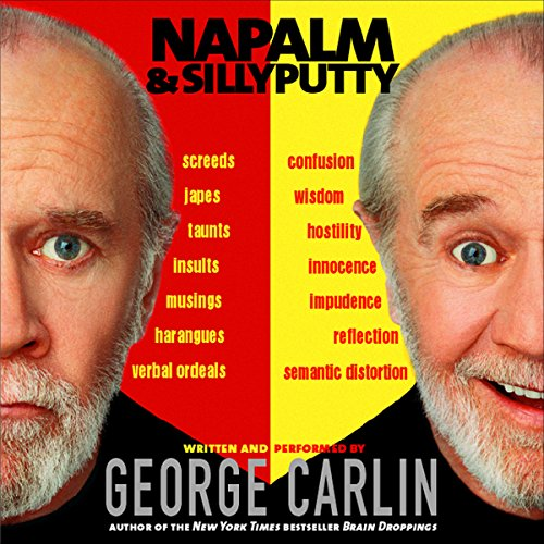 Napalm & Silly Putty audiobook cover art