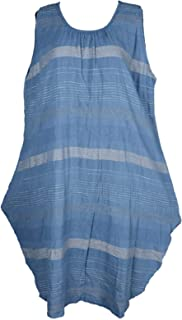 Long-Shirt Batik Türkis Bluse Blau XADOO Lagenlook Tunika Plus Size Übergröße