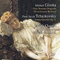 チャイコフスキー: 弦楽四重奏曲、グリンカ: 大六重奏曲 他 (Glinka : Gran Sestetto Originale, Divertimento Brillante, Tchaikovsky : String Quartet Op.11 / Prazak Quartet, Lukas Klansky, Pavel Nejtek) [SACD Hybrid] [輸入盤]