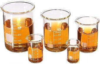 LIPOVOL مجموعه ای از شیشه های آزمایشگاهی آزمایشگاهی شیمی 5ml-100ml
