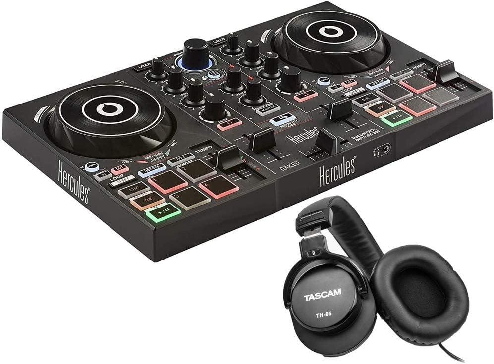 HERCULES AMS-DJC-INPULSE-200 Max 40% OFF DJControl Inpulse DJ 2-Channel 200 Over item handling ☆