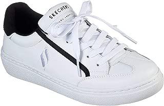 Skechers Street Goldie Soft Line Womens Sneaker, White/Black, 11
