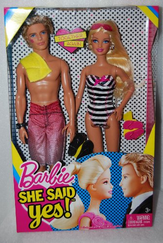 Barbie–t7431–Maniquí–Lot de muñecas Usted A sí Dicho