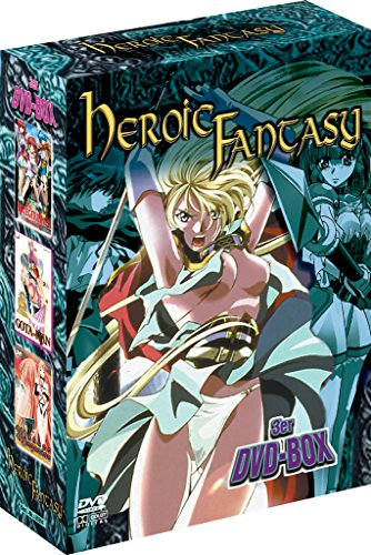 Manga Box Heroic Fantasy Vol.1 - [DVD] Re-Release