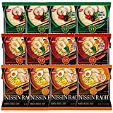 Nissin RAOH Ramen Variety Packs Noodle Soup,...