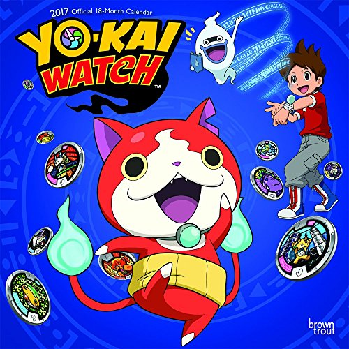 YOKAI WATCH 2017 WALL CALENDAR