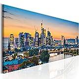murando - Bilder Frankfurt 135x45 cm Vlies Leinwandbild 1