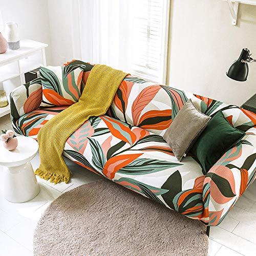 Fundas Sofas 3 y 2 Plazas Ajustables Elegante Fundas Sofa Elasticas,Funda de Sofa Chaise Longue,Moderna Cubre Sofa,La Funda para sofá Jacquard de Poliéster,Cubre Sofa(195-230cm)
