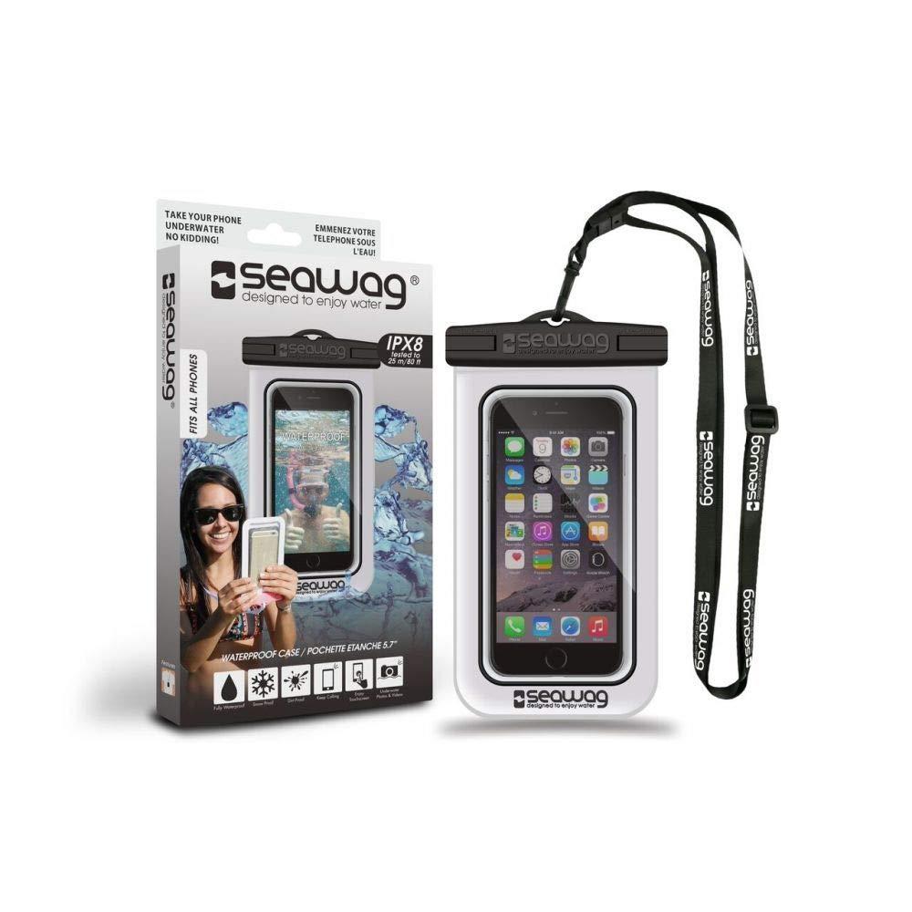 Seawag-Funda estanca e impermeable para smartphone, color negro ...