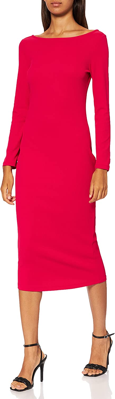 Armani exchange long sleeve vestito lungo da donna 92% poliammide 8% elastan 6KYA88
