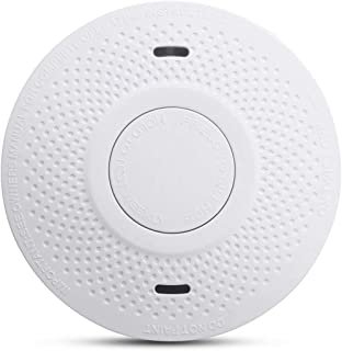MOSUO Smoke Detector 10 Year Battery, Smoke Detector Battery Powered 3V (Not Hardwired) Complies with UL 217 Smoke Alarm f...