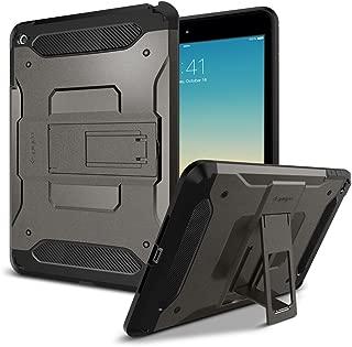 Spigen Tough Armor Works with iPad Mini 4 Case (2015) - Gunmetal