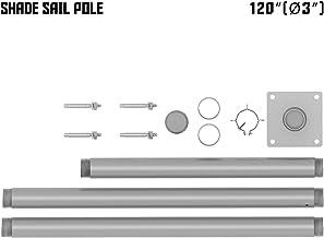 Amazon Com Shade Sail Poles