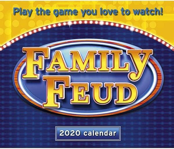 2020 Family Feud Desk Calendar By Calendar Ink