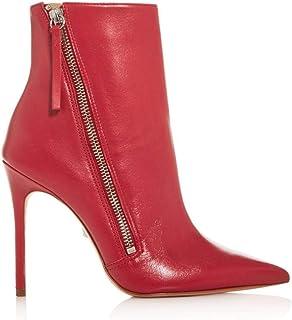 SCHUTZ Women's Olenka Pointed-Toe High-Heel Booties RED 9