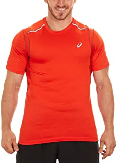 Men's Jikko 2.0 Running T-Shirt (Cone Orange, S)